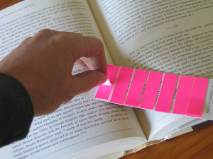 Sticky bookmarks