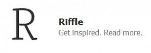 Riffle Books Logo