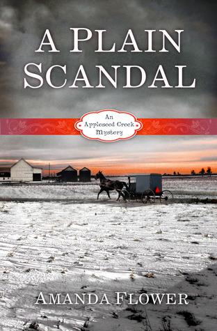 A Plain Scandal by Amanda Flower Cover