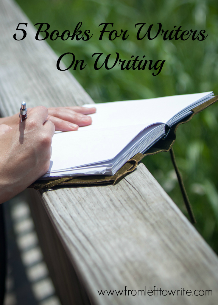 5 Books For Writers on Writing #NaNoWriteMo