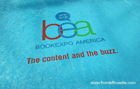 Tips for Book Expo America Attendees-From Left to Write