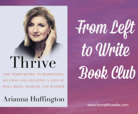 Thrive From Left to Write Book Club Banner