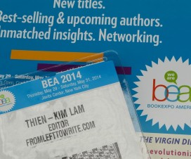 Book Expo America 2014-From Left to Write