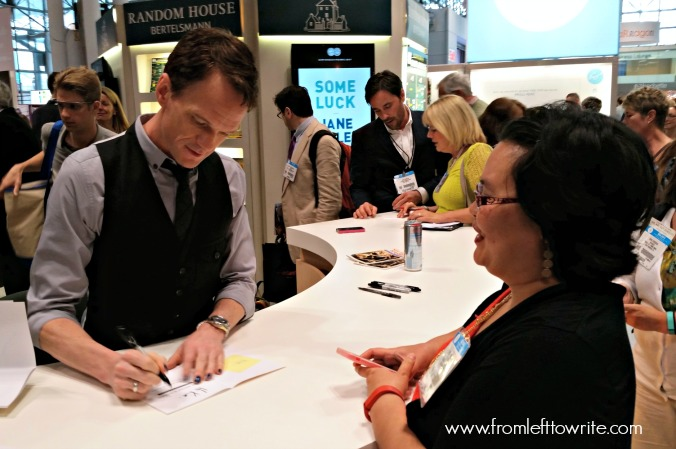 Meeting Neil Patrick Harris at Book Expo America