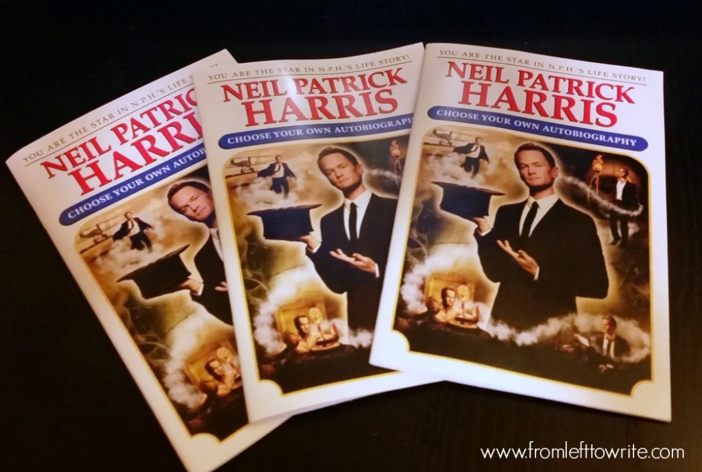 Neil Patrick Harris Book Excerpt Giveaway-From Left to Write