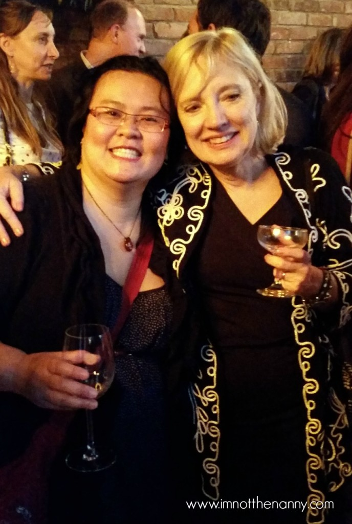 Thien-Kim and Sandie Shelton-From Left to Write