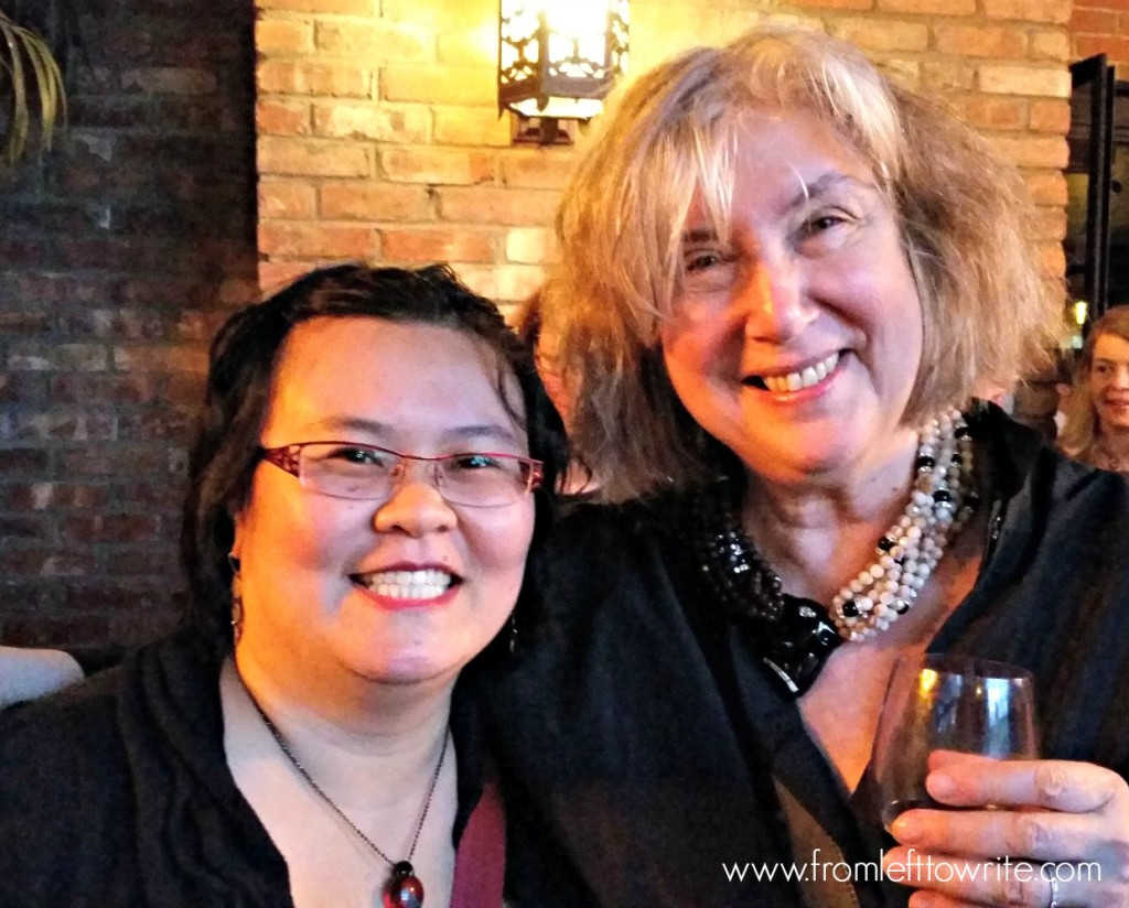 Thien-Kim and Susan Rieger-From Left to Write