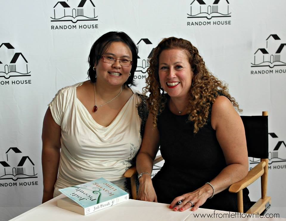 Thien-Kim with Jodi Picoult-From Left to Write
