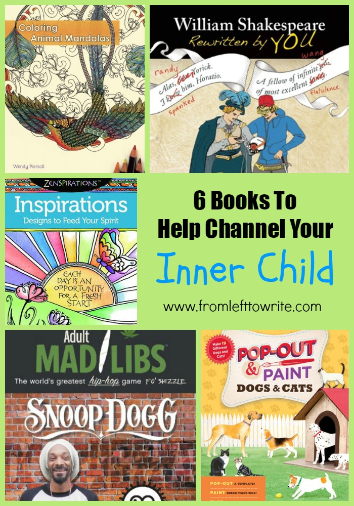 6 Books to Help Channel Your Inner Child-I'm Not the Nanny