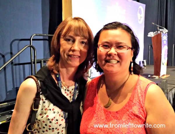 Thien-Kim with Lisa See