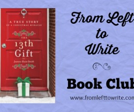 The 13th Gift Book Club Banner FL2W