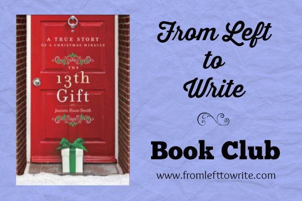 The 13th Gift Book Club Banner FL2W
