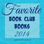 Favorite book club books 2014