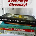 Book Purge Giveaway at From Left to Write