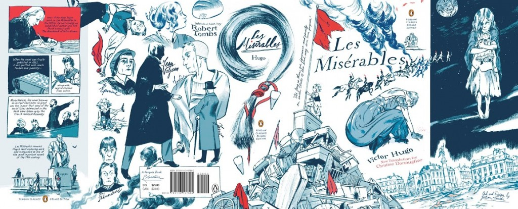 LES MIS Full jacket by Jillian Tamaki