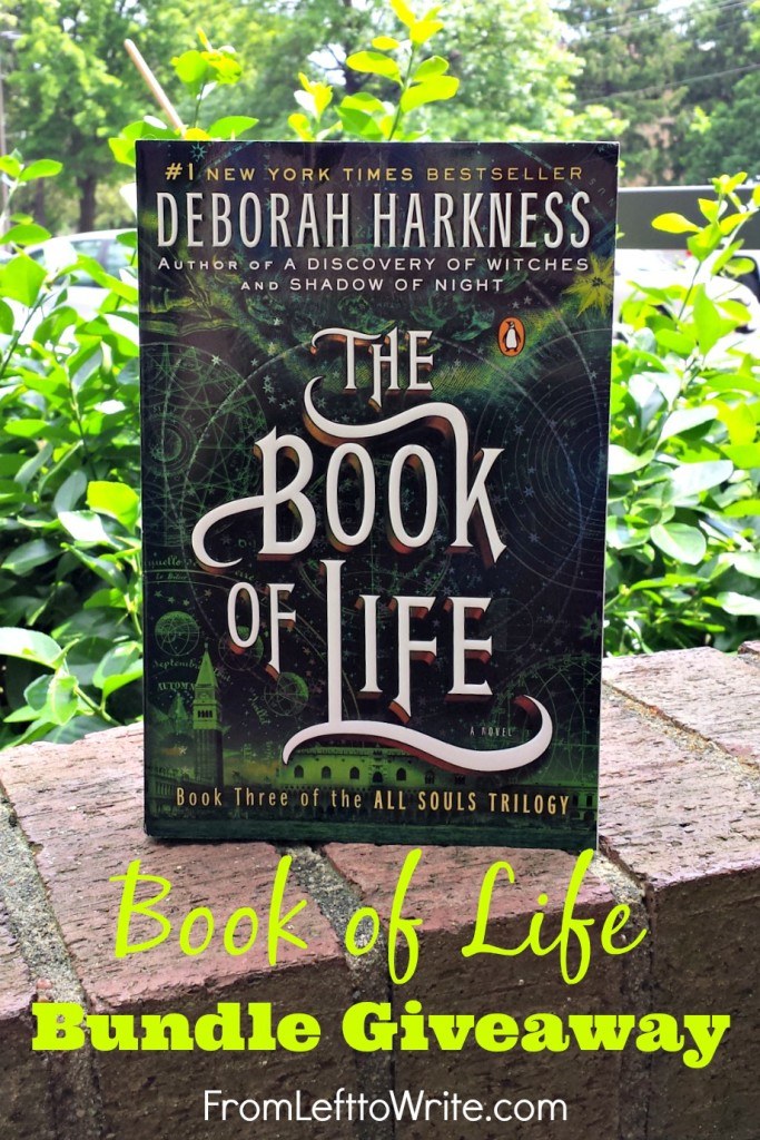 Deborah Harkness Book of Life Giveaway at From Left to Write