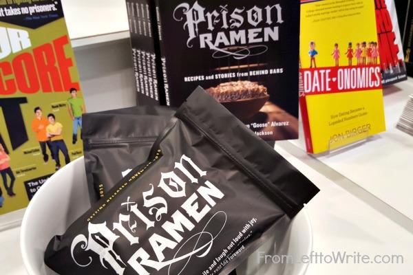 Prison Ramen Marketing Package at BEA
