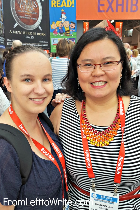 Thien-Kim and Erin at BEA