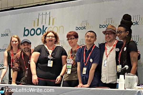 WNDB Sci-Fi Fantasy Panel at BookCon 2015
