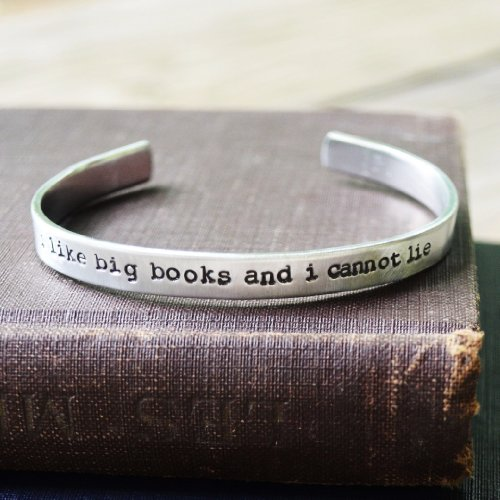 I Like Big Books Cuff Bracelet