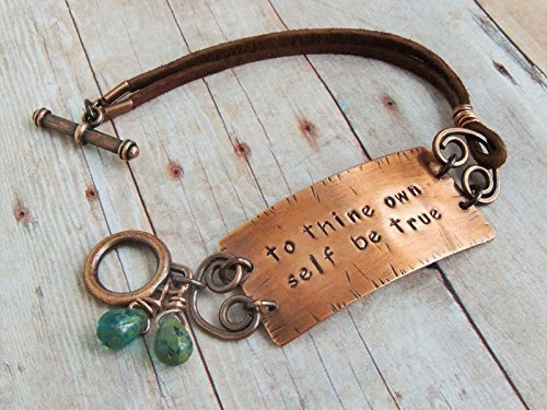 To Thine Own Self Be True Bracelet