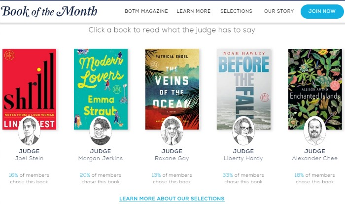June 2016 BOTM Selections