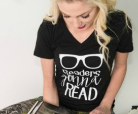 Readers Gonna Read tee 850x350