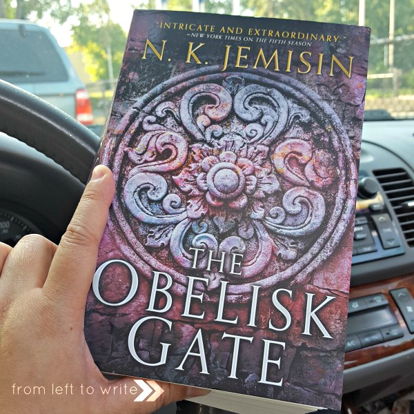 The Obelisk Gate by NK Jemisin