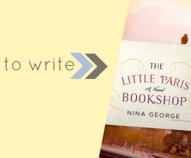 Little Paris Bookshop From Left to Write Book Club Banner